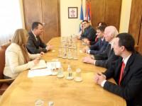 Председник Покрајинске владе Игор Мировић примио председника Националног савета македонске националне мањине